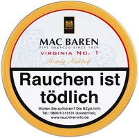 Mac Baren Virginia No. 1 Ready Rubbed 100g Dose