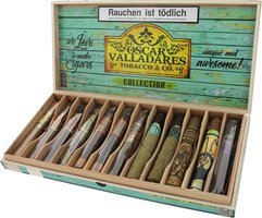 Oscar Valladares Sampler Collection 12er Sampler Kiste offen