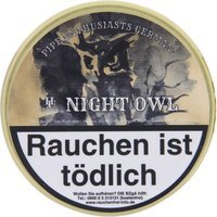 HU Tobacco Pipe Enthusiasts Germany Night Owl 50g