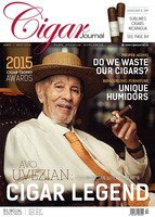Cigar Journal Ausgabe 04/2015 (Avo Uvezian)