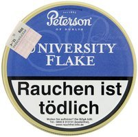 Peterson Pfeifentabak University Flake 50g Dose