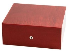 Fruit Collection Humidor für 75 Cigarren rot