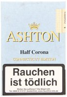 Ashton Small Cigars Connecticut Half Corona Connecticut 5er Packung