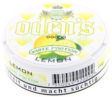 Odens White Portion Lemon