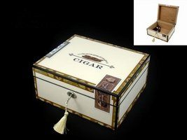 Classic Humidor Cabinet (92020) Premium mit Acrylpolymerbefeuchter