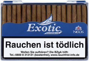 Exotic Silver Blue 50er Packung
