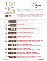 Cigar Journal Best of 2013 (10 Zigarren)