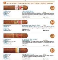 Cigar Aficionado Top Cigars 94er-Ratings (4 Zigarren)