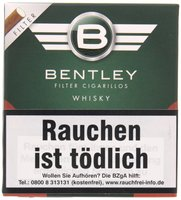 Filter Cigarillos Whisky (20er Packung)