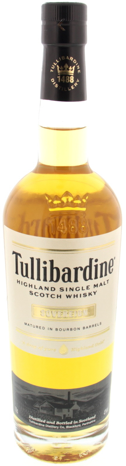 Tullibardine Single Malt Scotch Whisky Sovereign