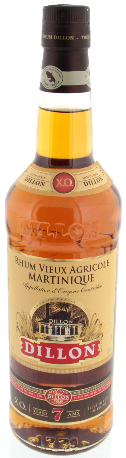 Dillon Rhum XO 7 Years