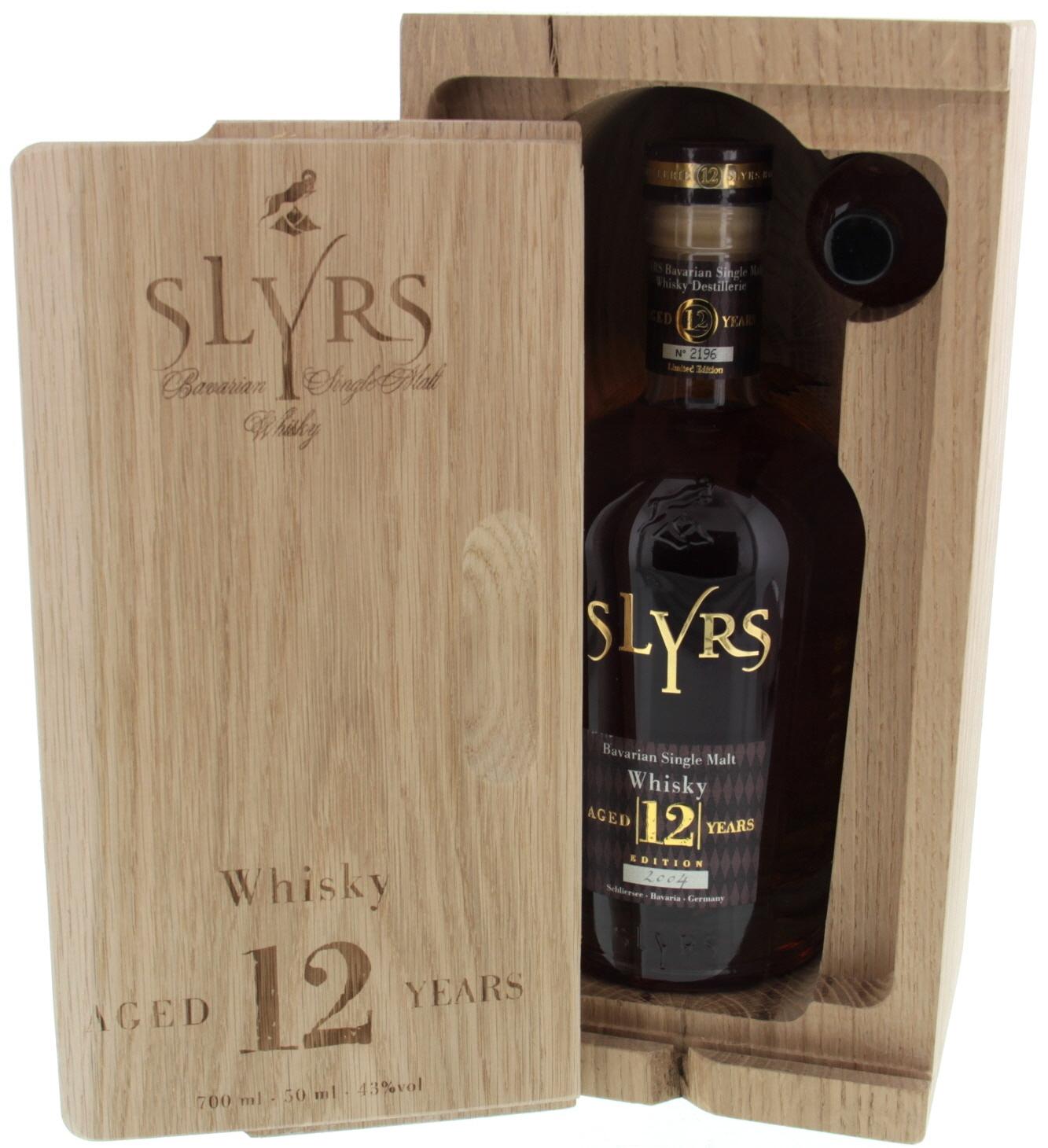 Slyrs Bavarian Single Malt Whisky Classic 0,35l 43%