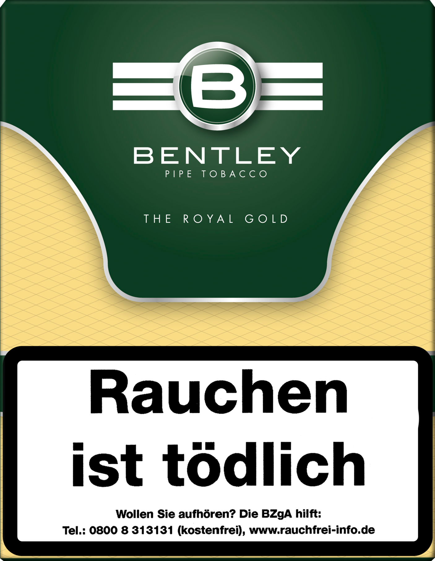 Bentley Pfeifentabak The Royal Gold 50g Dose