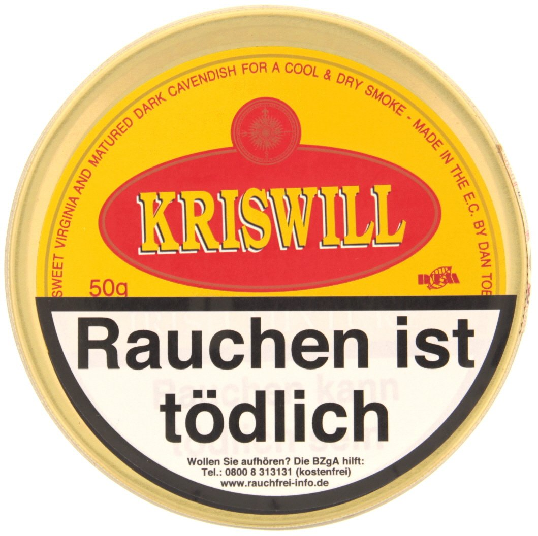 Dan Tobacco Kriswill Irish Mixture 50g Dose (8069-50)