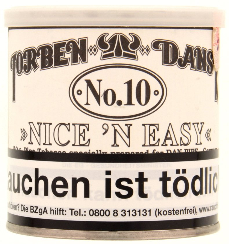 Dan Tobacco Torben Dansk No. 10 Loose Cut (ehemals Nice 'n Easy) 50g Dose (8010-50)