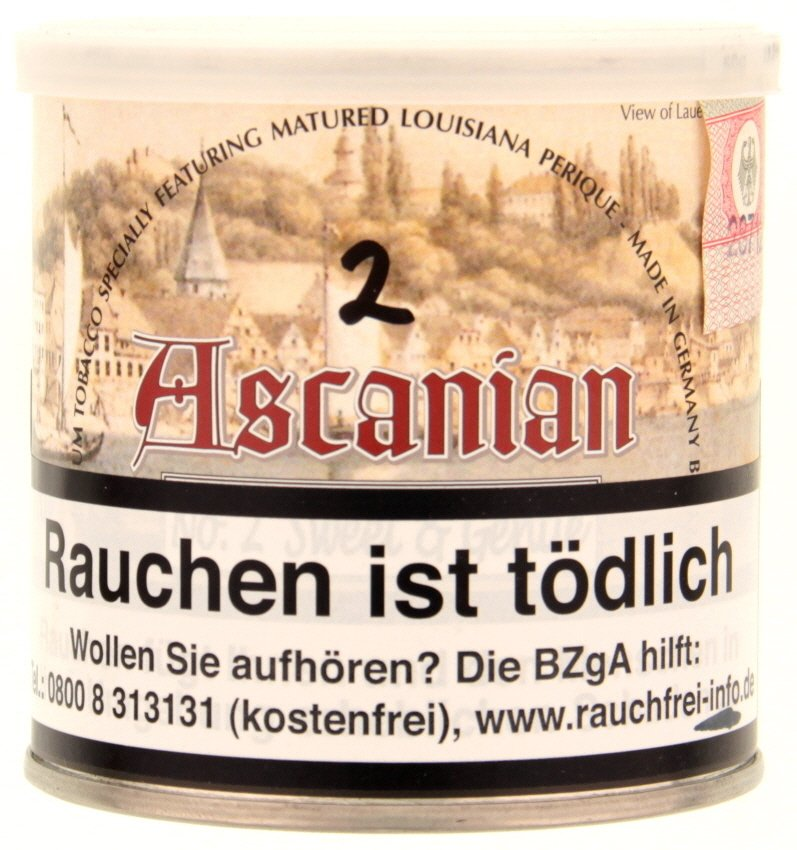 Dan Tobacco Ascanian No. 2 Castle Blend (ehemals Sweet & Gentle) 50g Dose (1820-18)