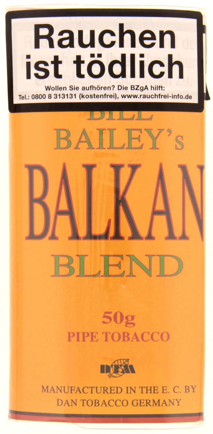 Dan Tobacco Bill Bailey's Balkan Blend 50g Pouch
