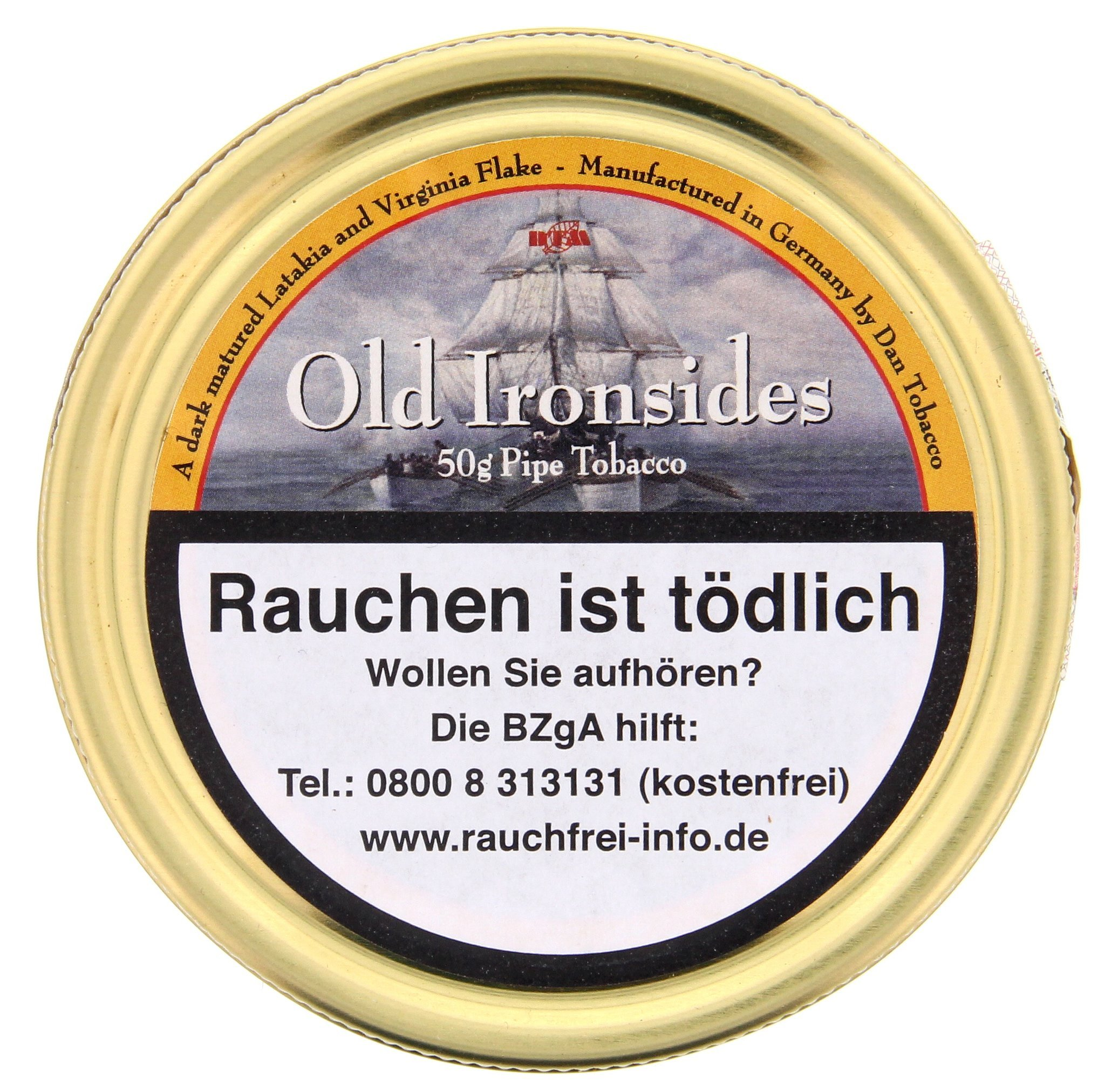 Dan Tobacco Old Ironsides 50g Dose