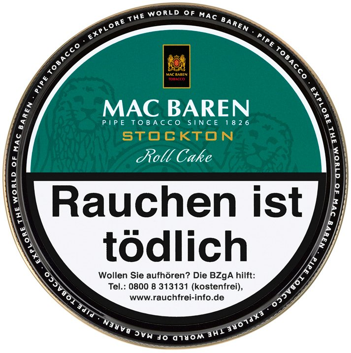 Mac Baren Stockton Roll Cake 100g Dose