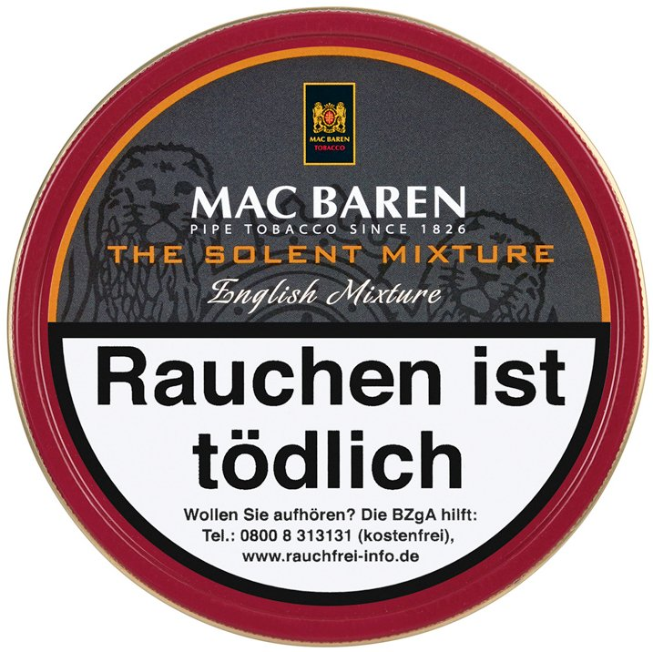 Mac Baren The Solent Mixture 100g Dose