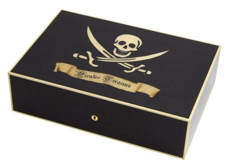 Elie Bleu Pirates Collection Humidor Pirates Collection für ca 110 Cigarren sch