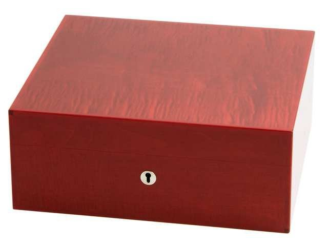 Elie Bleu Fruit Collection Humidor Fruit Collection Humidor für 75 Cigarren rot