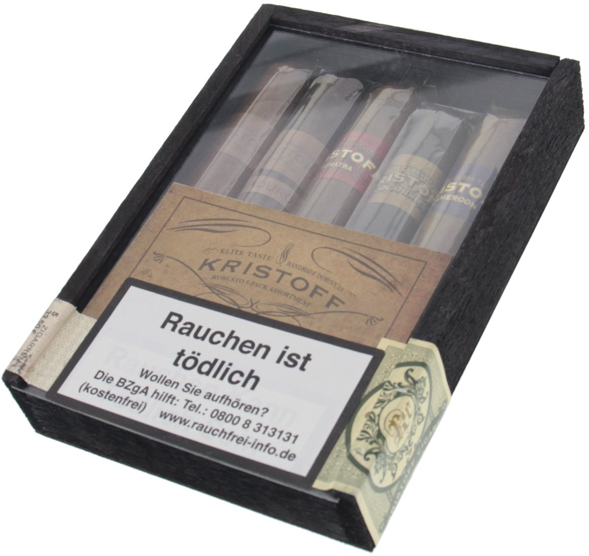 Kristoff Sampler Robusto 5-Pack Assortment