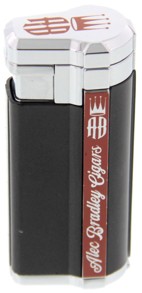 Alec Bradley Accessories Lighter Triple-Flame schwarz