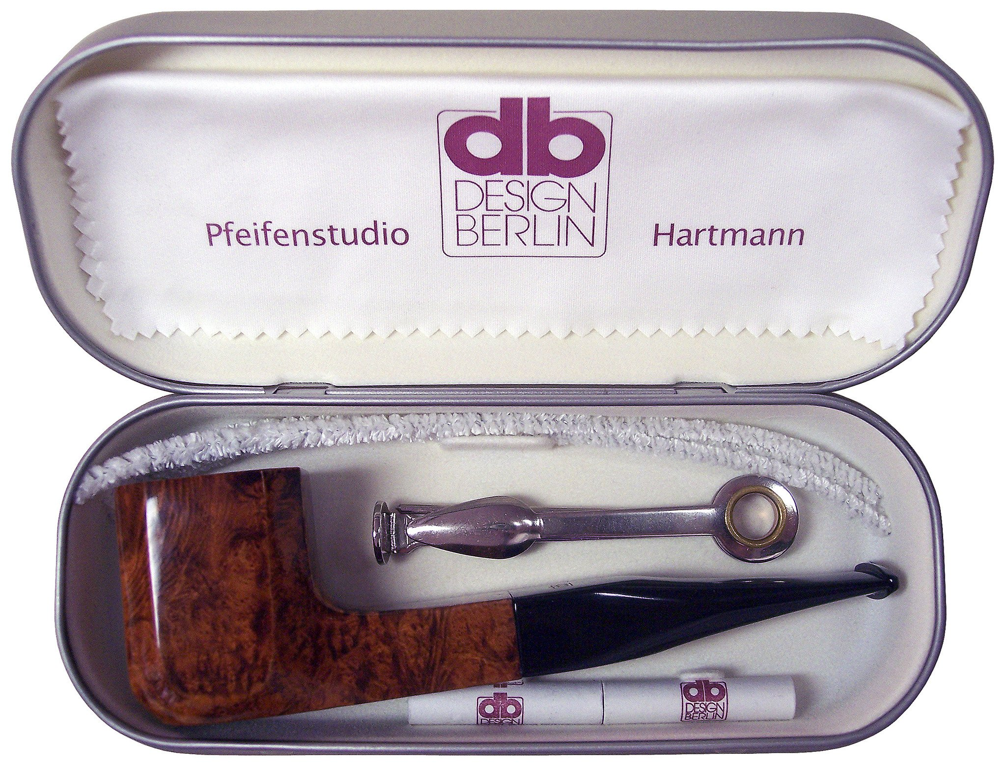 DB Design Berlin Pipe to go BORDEAUX (gerade) Schmuckdose