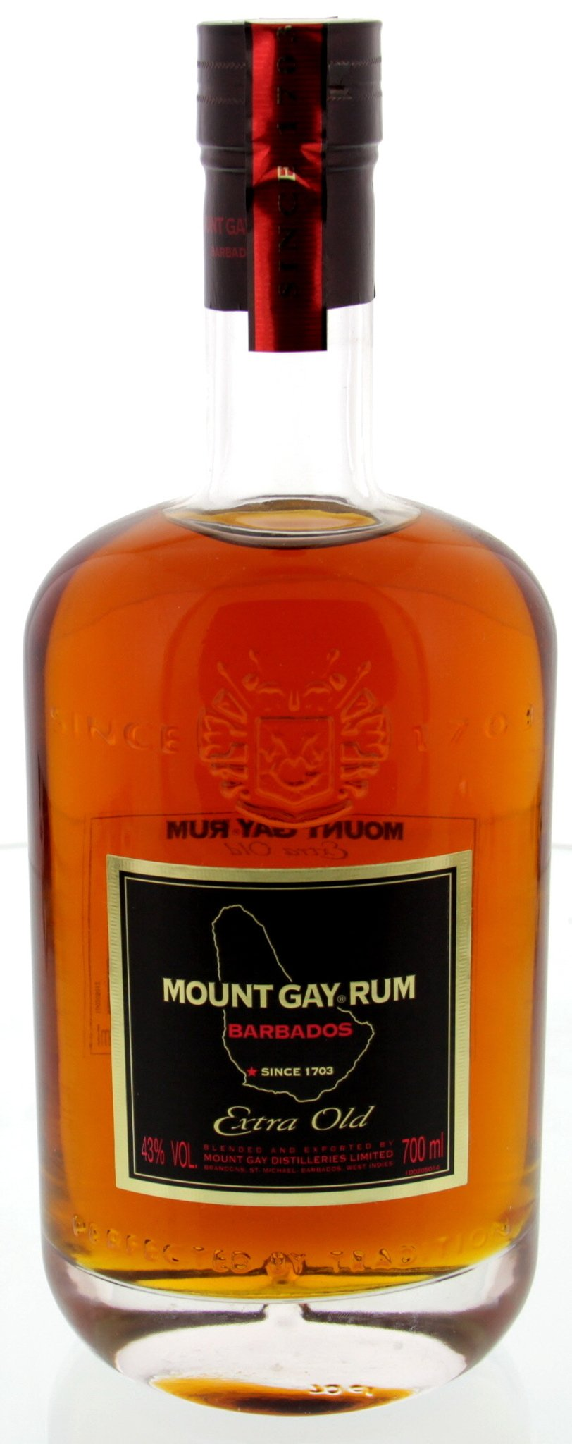 Mount Gay Extra Old 43% vol 0,7L