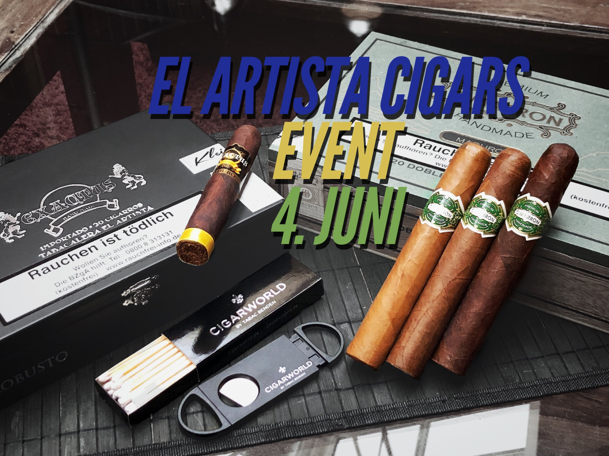 El Artista Cigars Event