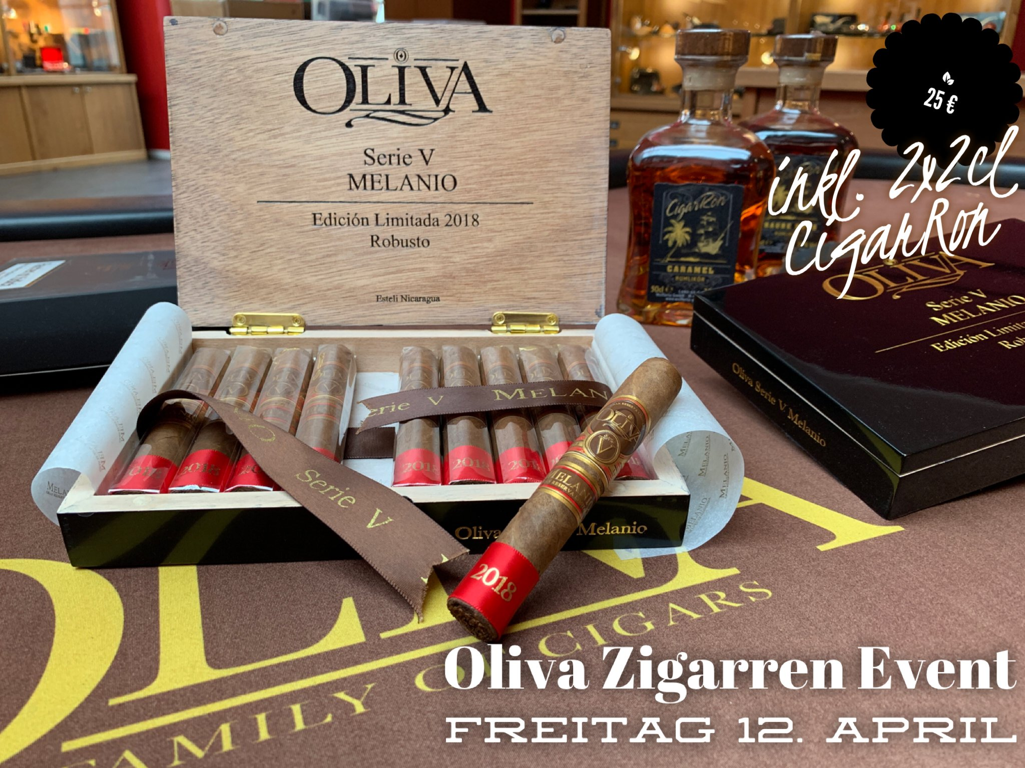 Oliva Cigarworld Event