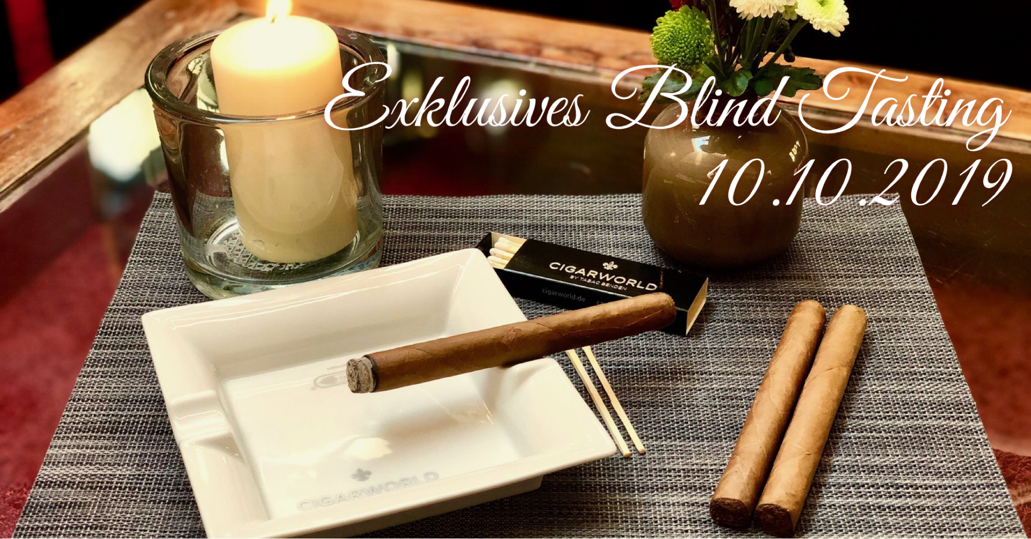 Cigarworld Exklusives Zigarren-Blind-Tasting