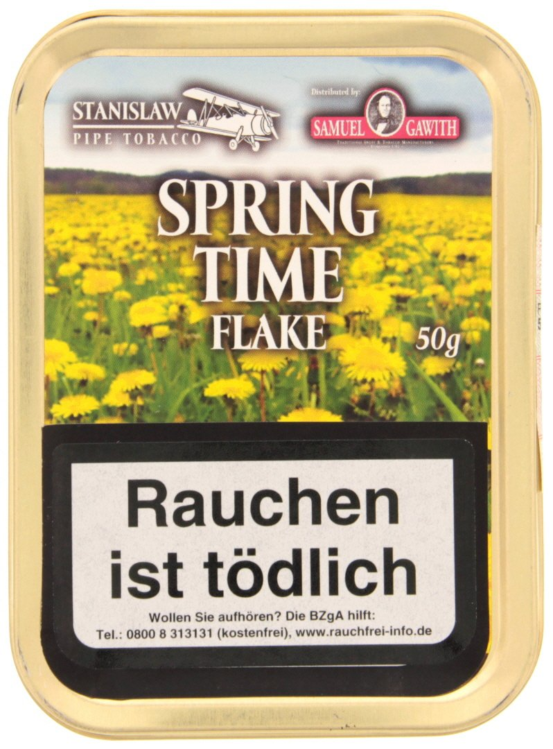Samuel Gawith Limited Edition Springtime Flake Limited 50g Schmuckdose