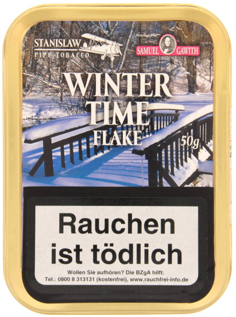 Samuel Gawith Limited Edition Winter Time Flake 50g Schmuckdose