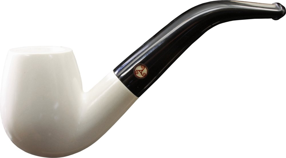 Rattray´s White Goddess (Meerschaum) Bent Smooth Bild 1