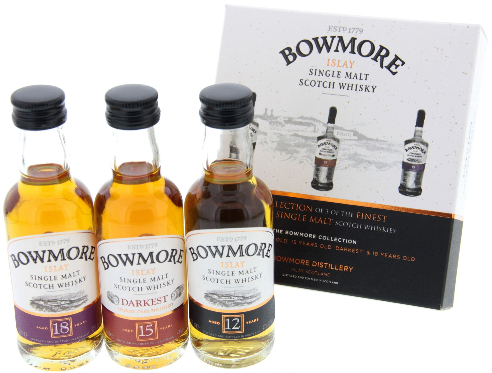 Bowmore Whisky Distillers Collection