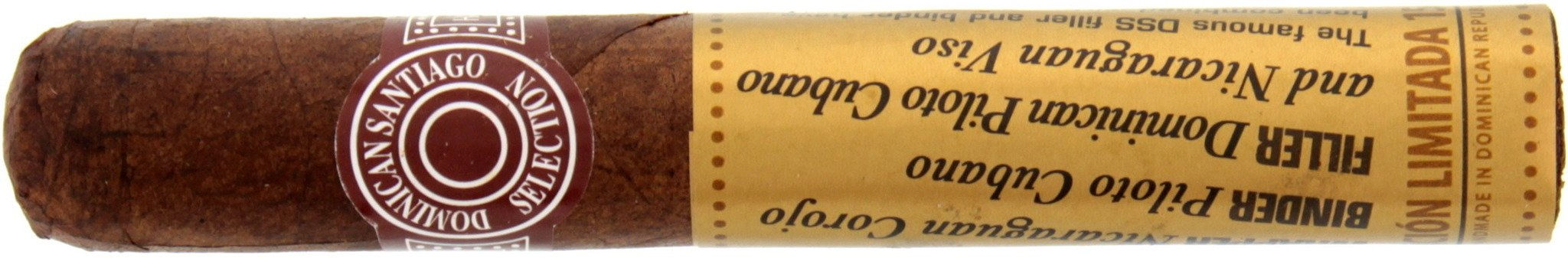 Dominican Santiago Selection (DSS) Limitada 1575 Robusto