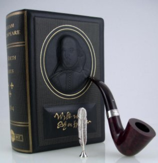Dunhill The White Spot William Shakespeare Limited Edition Kastanie - Sterling S