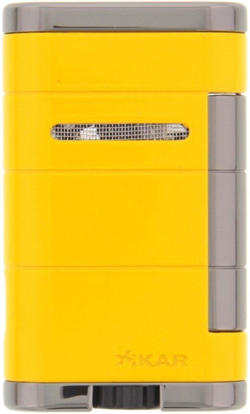 Xikar Allume (Double Jet) Electric - Yellow (533YL)