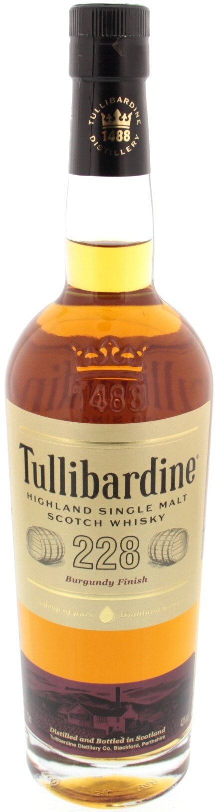 Tullibardine Single Malt Scotch Whisky 228