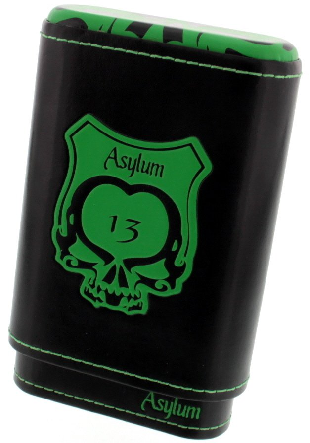 Asylum Cigars 13 Etui green
