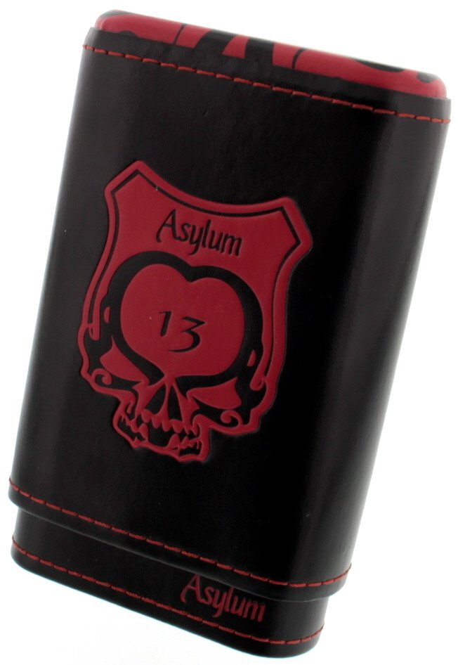 Asylum Cigars 13 Etui red