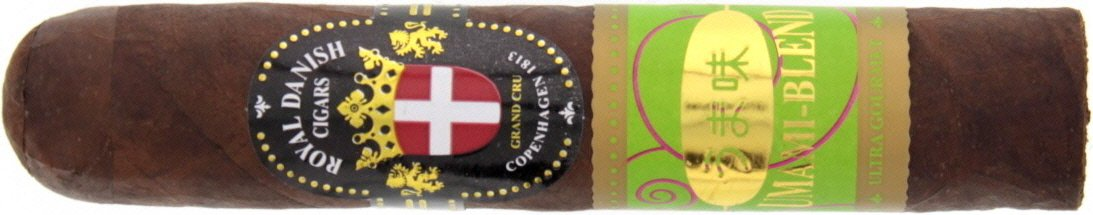 Royal Danish Cigars Umami Blend Fat Robusto Dark
