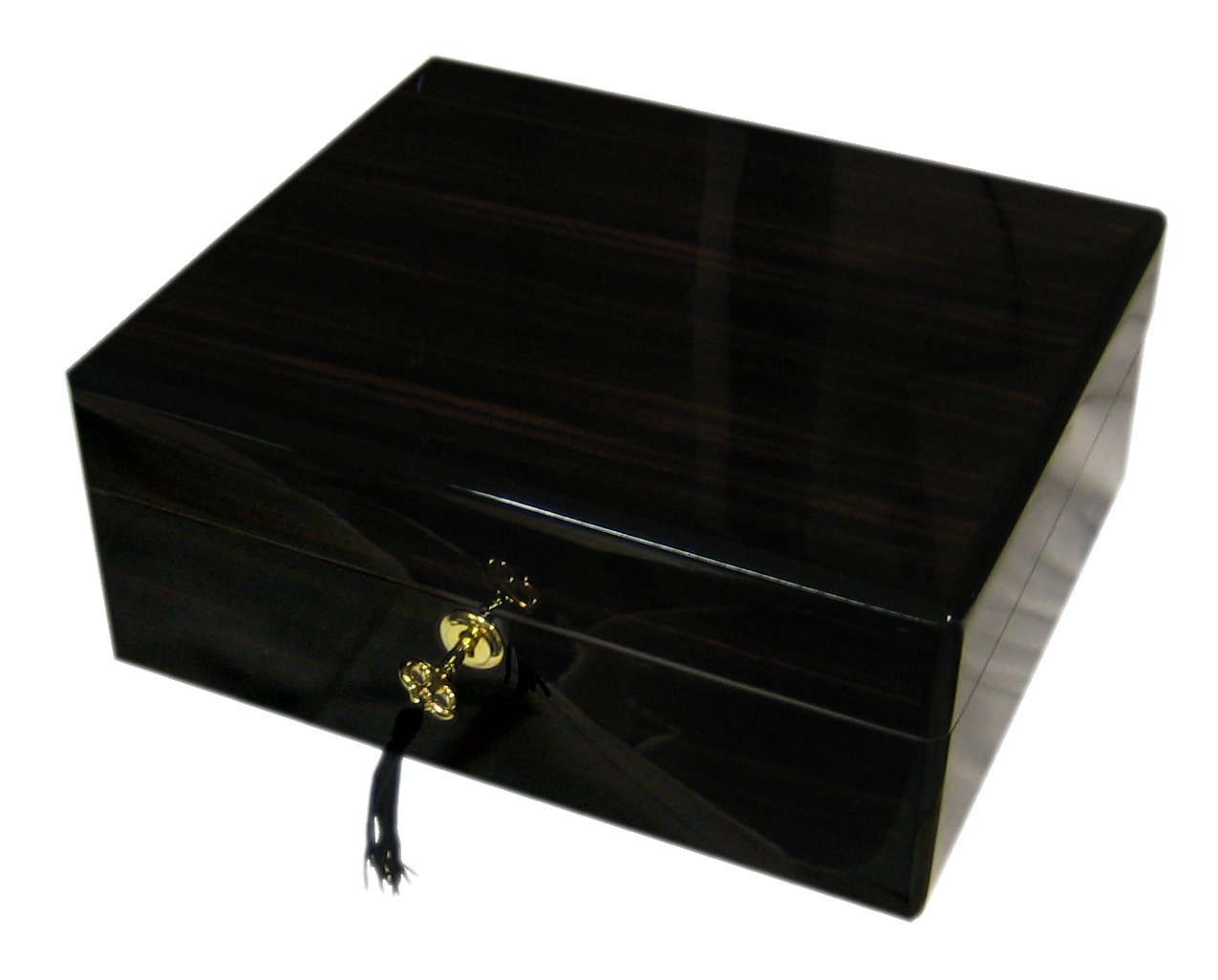 Humipouros Humidor Cebrano 8632 mit Befeuchter (50-75 Cig.)