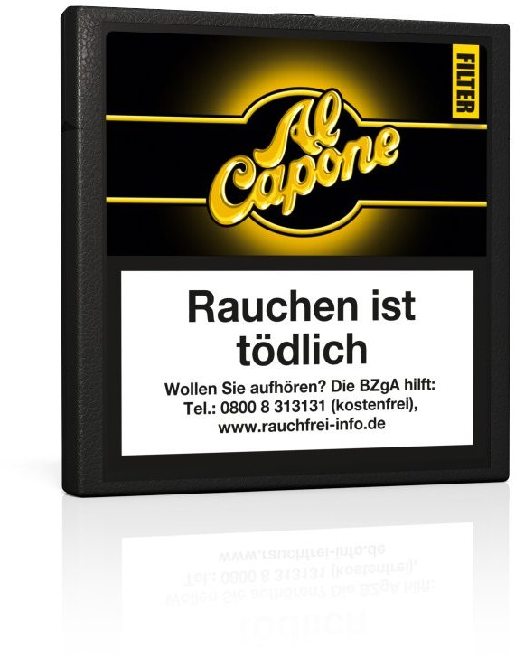Al Capone Cigarillos Filter 10 (ehemals Sweets)