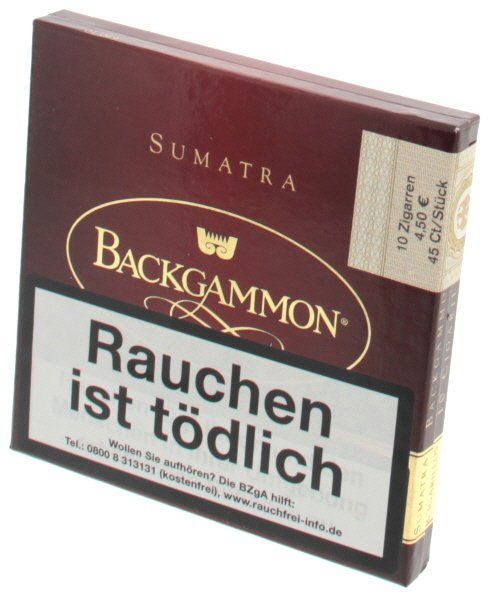 Backgammon Cigarillo Sumatra 10er