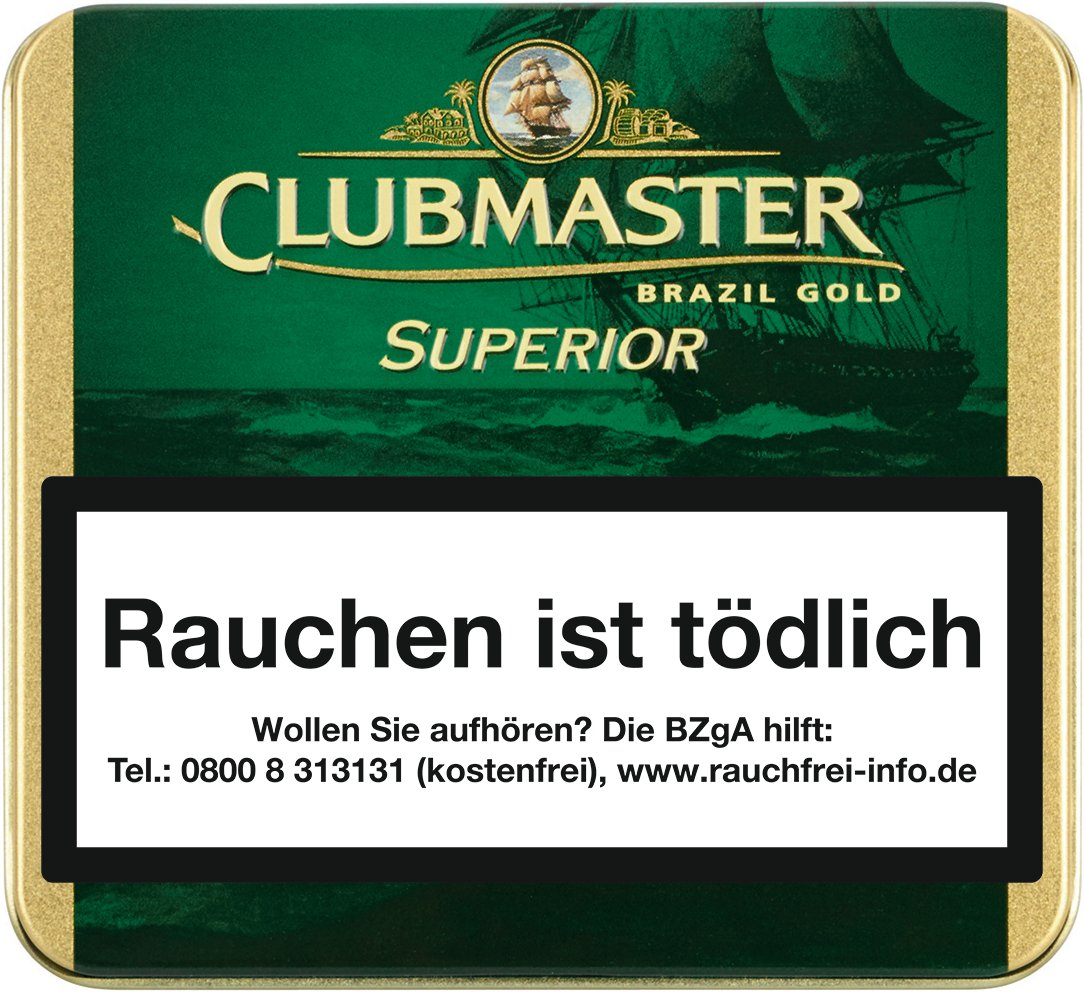 Clubmaster Superior Brasil GOLD No.164
