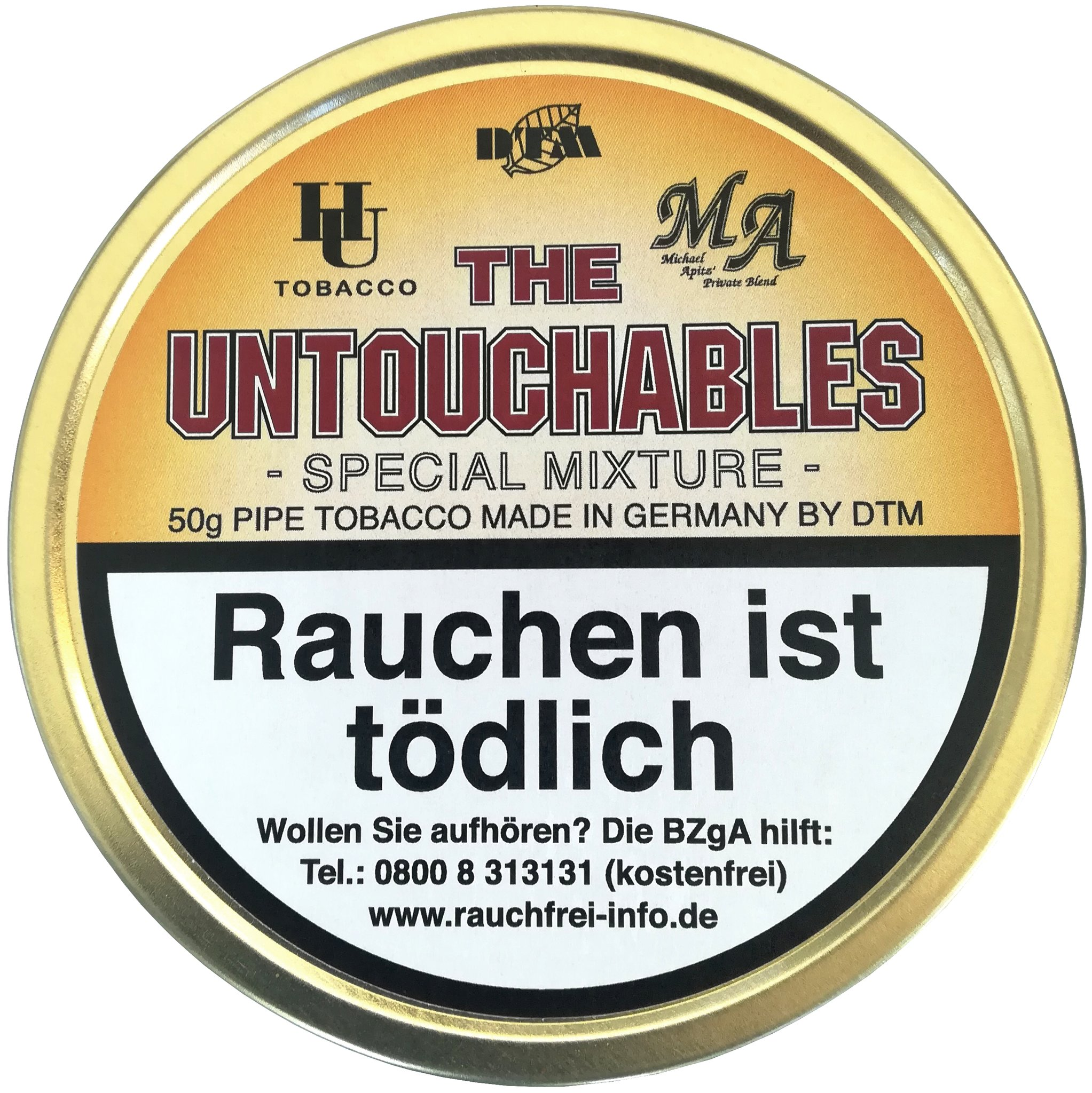 HU Tobacco United Passion The Untouchables 50g Dose