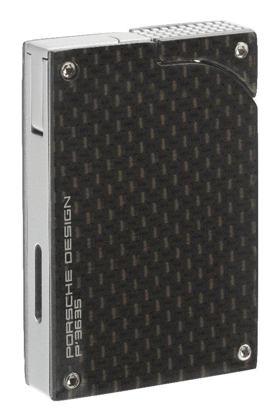 porsche design pd5 feuerzeug p 39 3635 black carbon 2